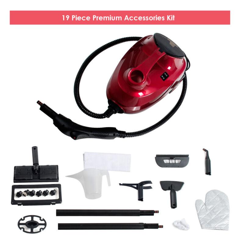 2000W Heavy Duty Steam Cleaner Mop Multi-Function W/19 Accessories 4.0 Bar 1.5L