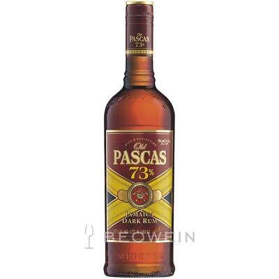 Old Pascas 73% Very Old Jamaica Rum 1,0 l Dunkler Jamaika Rum