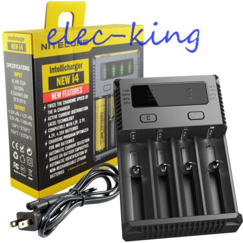 Купить NITECORE - NITECORE New i4 2018 smart battery charger IMR/Li-ion/Ni-MH/Ni-Cd 18650/16340