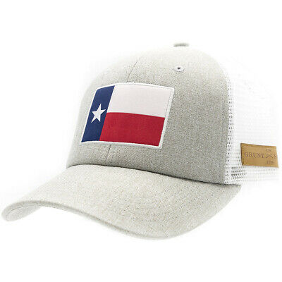 Grunt Style Texas Flag Heather Mesh Hat – Gray