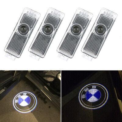4pcs Car Symbol Identification Lights Door Welcome Light Led Logo Light CREE Led