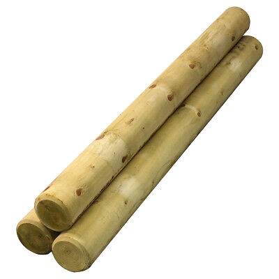 1.2m Bollards 4 Pack of Wooden Post Extra Thick Decorative Treated Timber