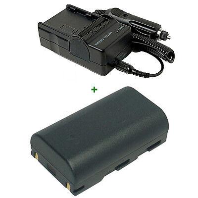 Car/Home Charger + Battery for SAMSUNG SC-DC164 SB-LSM80 VP-DC171 VP D361 CAM