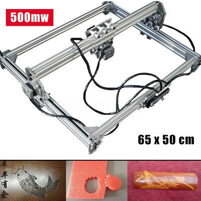500mw 65x50cm Desktop Laser Engraving Machine Diy Logo Marking Printer Engraver