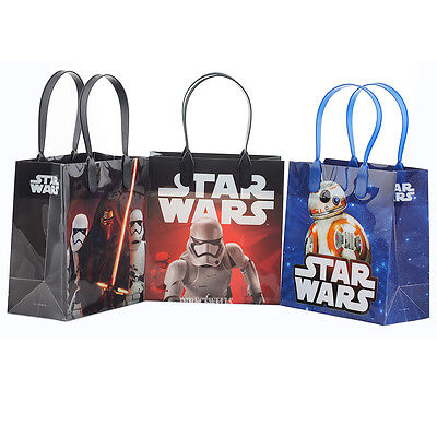Disney Star Wars Authentic Licensed Reusable Small Party Favor Goodie 12 Bags
