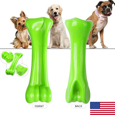US STOCK Durable Dog Chew Toys— Bone toy for Aggressive Chewers— -