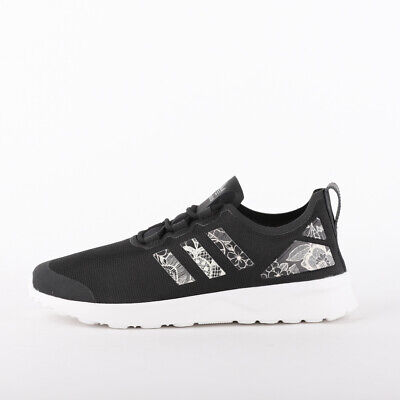 Womens Adidas ZX Flux Advanced Verve Black Trainers (TGF41) RRP £69.99