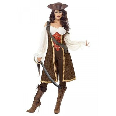 Females Halloween Costumes (Female Pirate Costume Adult Halloween Fancy)