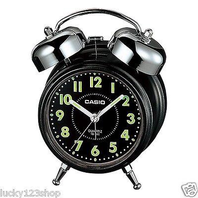 TQ-362-1A Black Casio Clock Alarm Clocks Brand-New Analog