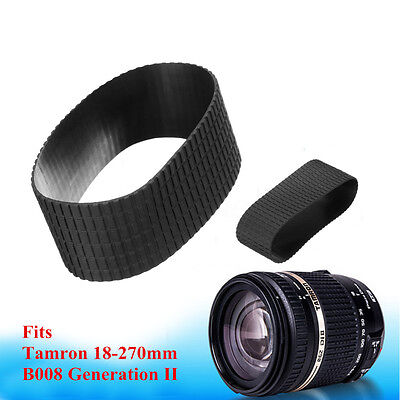 Zoom Rubber Grip Ring Replacement Part For Tamron 18-270mm B008 Generation II