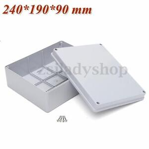 240*190*90mm Electrical Project Junction Box Enclosure Sealed Case Waterproof