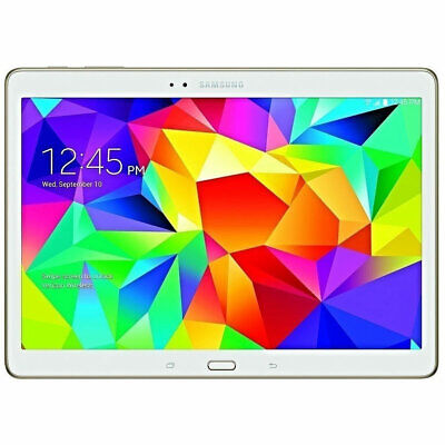 Samsung Galaxy Tab S SM-T807V 16GB 10.5 WiFi 4G LTE GSM Unlocked Verizon White for sale  Shipping to South Africa