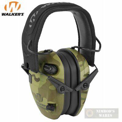 23 Earmuff (WALKER's RAZOR SLIM Shooter Low Profile EARMUFFS 23dB MultiCam CAMO)
