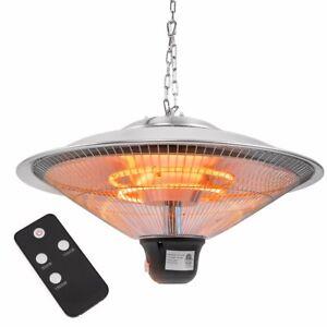 20 Electric Patio Infrared Outdoor Ceiling Heater Indoor Hanging Garden Remote