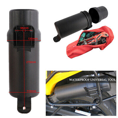 Rugged Motorcycle Tool Tubes with waterproof O-ring For Transporting and Storing