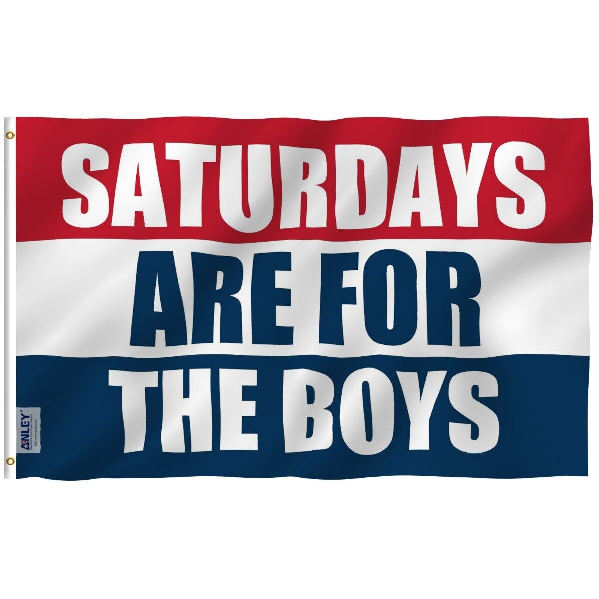 ANLEY 3x5 feet Saturdays Are For The Boys Flag Polyester Dou