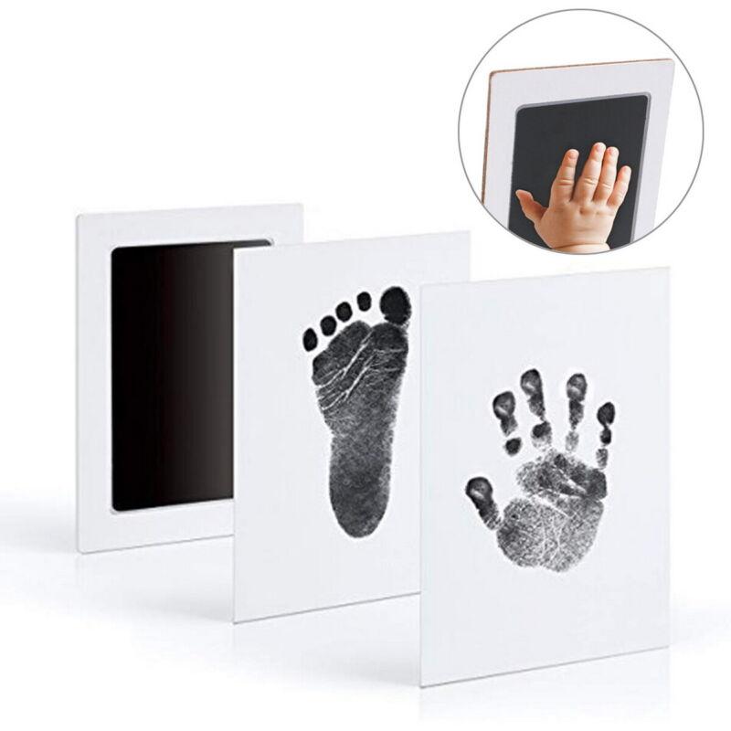 Baby Safe Print Ink Pad Inkless Footprint Handprint Kit Keepsake Maker Memories