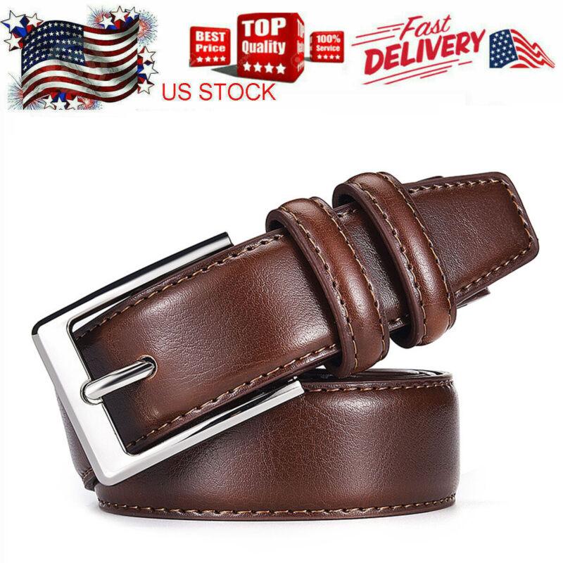 33-42 Genuine Leather Belts For Men Classy Dress Belt Mens Belt Black/coffee