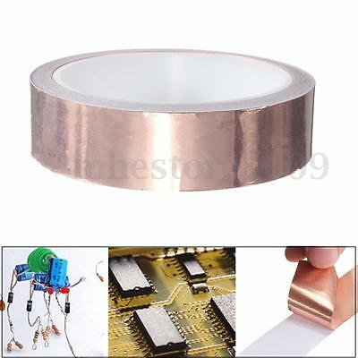 25mm X 10m Emi Single-sided Foil Tape Conductive Adhesive Copper Heat Insulation