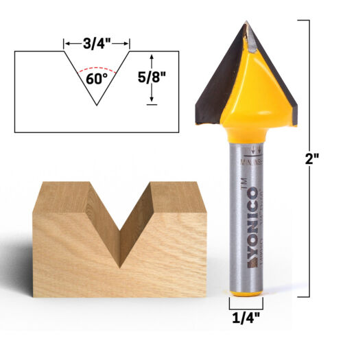 90 Degree 3D Making Router CNC Engraving V Groove Bits End Mill 6mm x 22mm Z2YYY