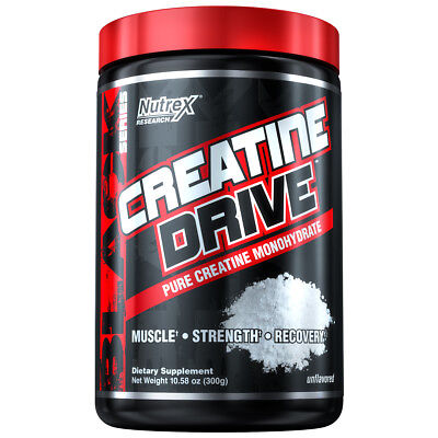 Nutrex Research Creatine Drive Pure Creatine Monohydrate Muscle Recovery | 300g