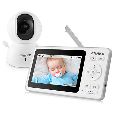 ANNKE BM100 Video Baby Monitor 4.3 LCD Security IP Camera System P/T 2-Way Audio