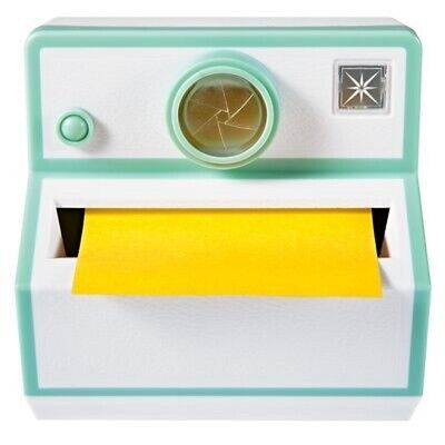 Polaroid Camera 3m Post-it Note Dispenser Cube Turquoise 45 Sheetspad Pop-up