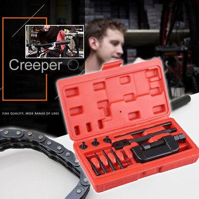 Motorcycle Motorbike Drive Cam Chain Splitter Breaker & Riveter Tool JPC