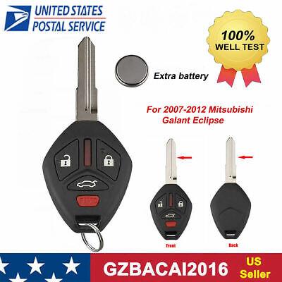 Keyless Entry Remote Key Fob Replacement for 2007-2012 Mitsubishi Galant Eclipse - Mitsubishi Keyless Entry