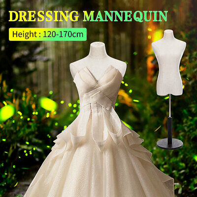 Female Mannequin Torso Clothing Dress Form Display 1.2-1.7m Height  B Us