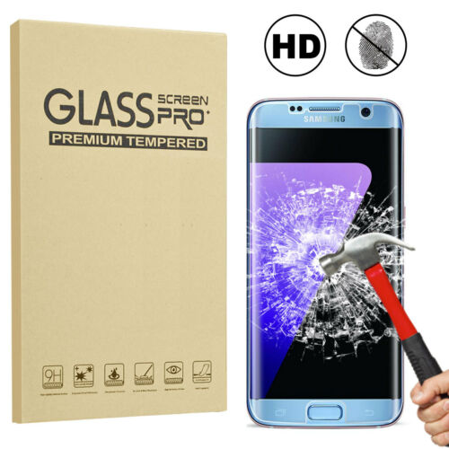 For Samsung Galaxy S6 S7 Edge Full Cover Tempered Glass Phon