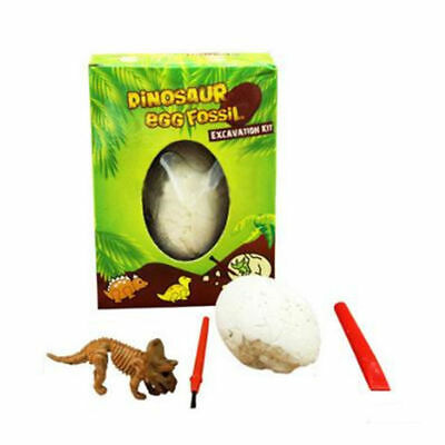 Dinosaur Egg Excavation Kit - Archaeology Dig Up History Skeleton Fun Kid Toys (Dig Up)