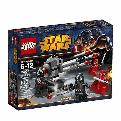 75034 DEATH STAR TROOPERS star wars lego NEW legos set Imperial Royal Guards