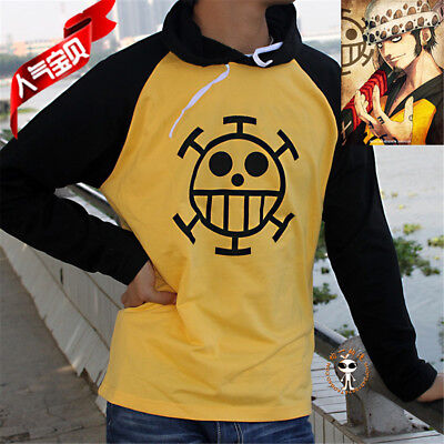 Anime One Piece Trafalgar Law Hoodie Pullover Unisex Cosplay Kostüm - Trafalgar Law Cosplay Kostüm