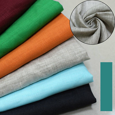 100% Pure Linen  Fabric use garment Home Decor  Wholesale half meter ()