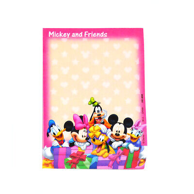 Disney Mickey Mouse And Friends Pink Deluxe Memo Notepad