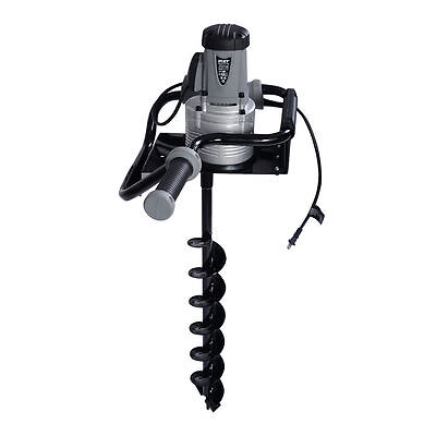New 1.6 Hp Electric Post Hole Digger 1200w Watt Motor W 4 Inch Auger Drill Bit