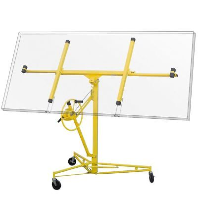 Pro 16 Drywall Sheetrock Rolling Lift Panel Hoist Jack Construction Tool Diy
