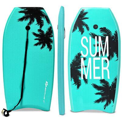 """41"""" Lightweight Super Bodyboard Surfing W/Leash IXPE Deck EP"""