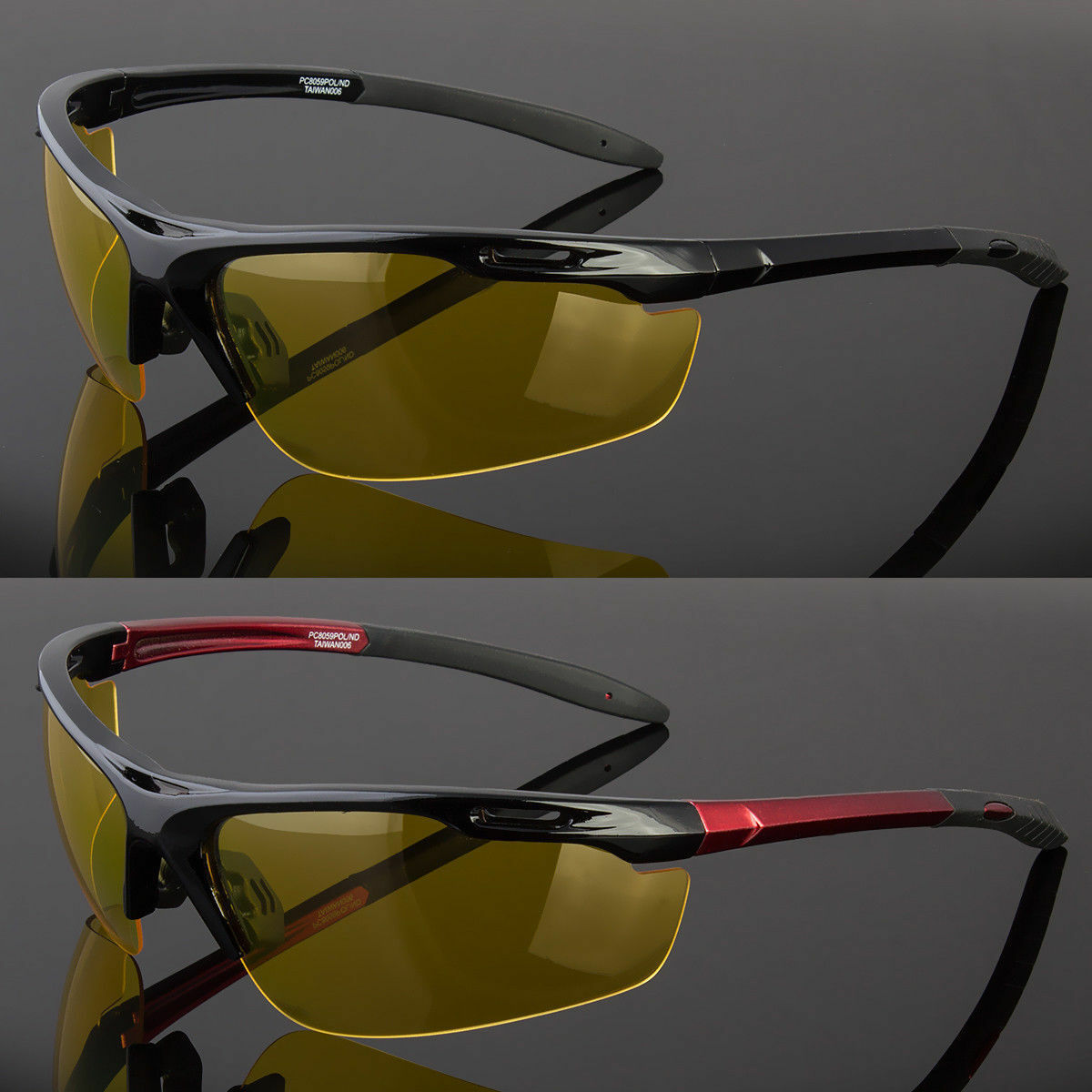 Day Night Vision Polarized Sunglasses Driving Sports Pilot S