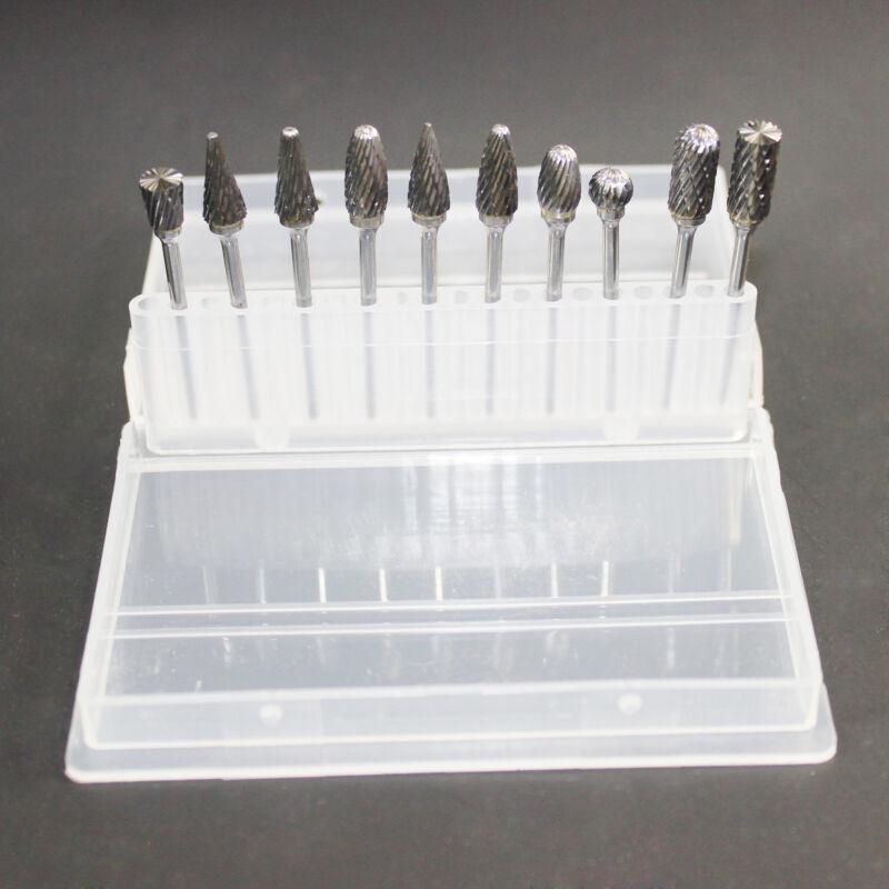 Tungsten Steel Dental Carbide Burs Lab Burrs Tooth Drill Grinder Bits Polisher