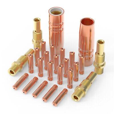 Mig Welding Gun Kit 20 Tips .023 Nozzle Diffuser For Lincoln 100l Tweco Mini1