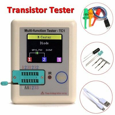 Lcr Tft Tester Transistor Diode Triode Capacitance Meter Mosfet Pnpnpn Lcr Esr