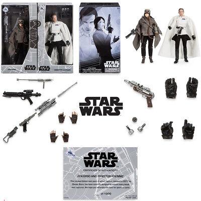 🔥 D23 Disney Star Wars Elite Series Jyn Erso Director Krennic LE Figure Set 🔥