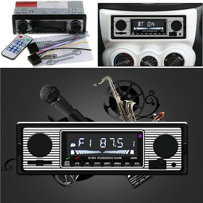 4-Channel In-Dash Car Bluetooth Audio USB/FM/WMA/MP3/WAV Radio Stereo Player
