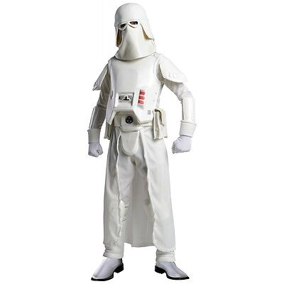 Snow Trooper Costume Kids Star Wars Stormtrooper Halloween Fancy Dress