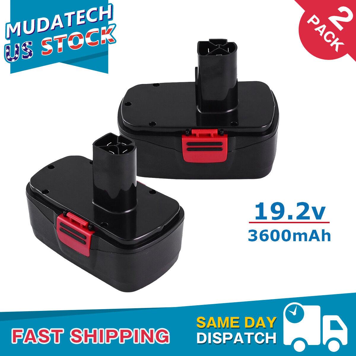 2pack For Craftsman Diehard 19.2V Battery 3.6Ah C3 130279005