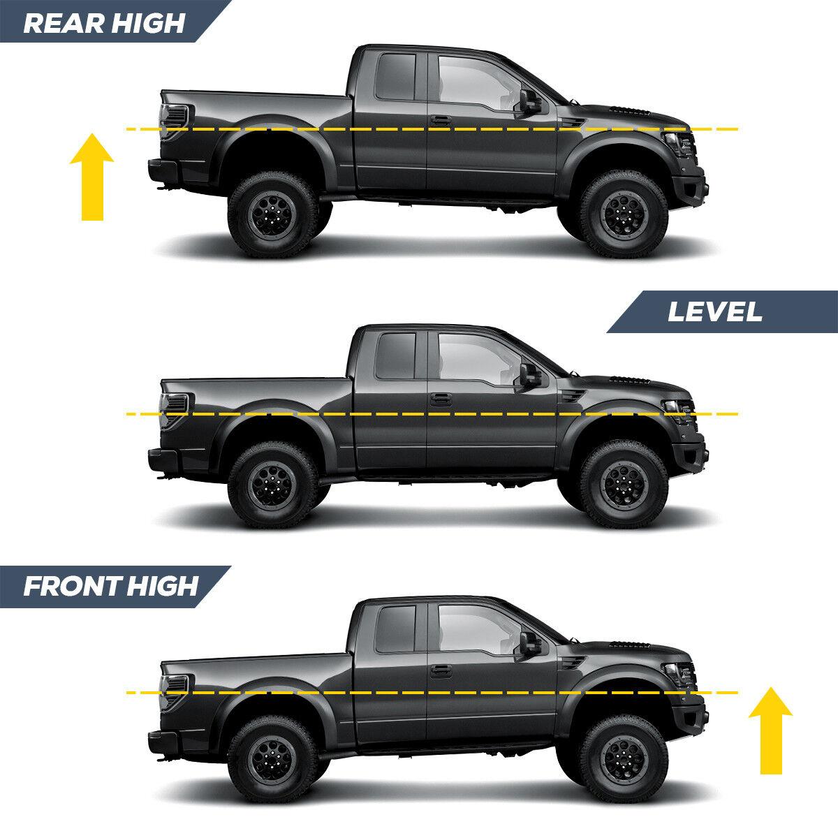 ::3'' Front + 2'' Rear Leveling lift kit for 2007-2020 Chevy Silverado Sierra GMC