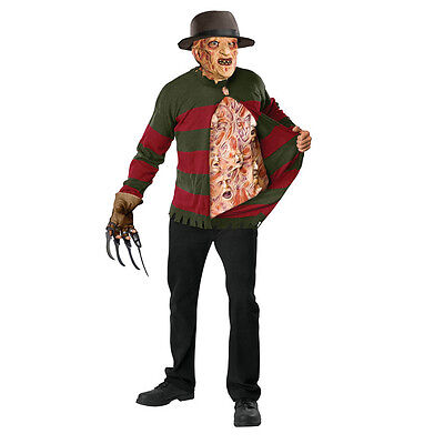 Nightmare On Elm Street Freddy Krueger Chest of Souls Adult Costume Sweater](Freddy Chest Of Souls)