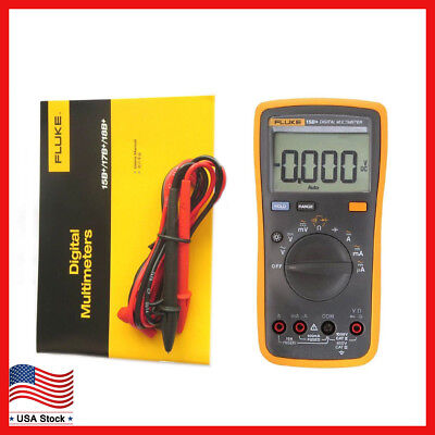New Fluke 15b F15b Digital Multimeter Meter Auto Range Ac Dc Voltage Current
